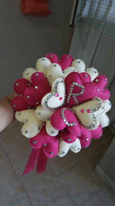 bouquet di cuori