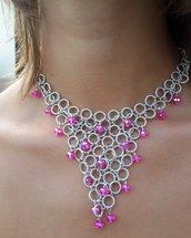 Girocollo Schiava Fashion Rosa