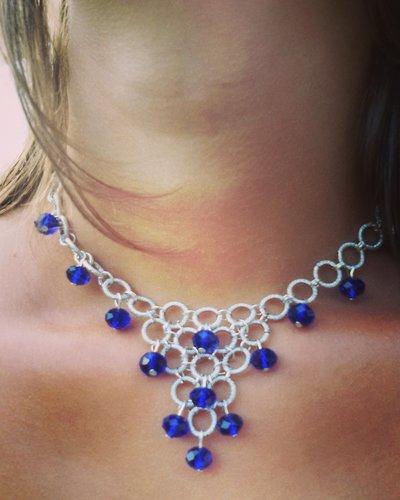 Girocollo Schiava Fashion Blu