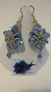 Orecchini Stella Azzurri