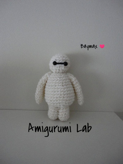 Baymax-Big hero 6-amigurumi