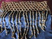Girocollo di perline dorate