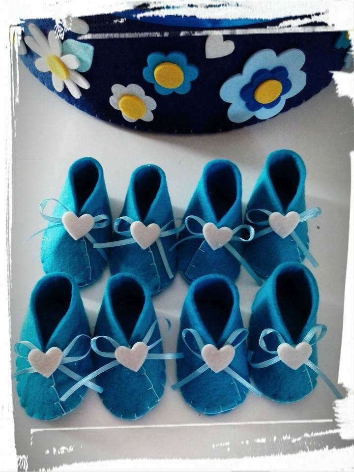 Bomboniere nascita/battesimo : la scarpina