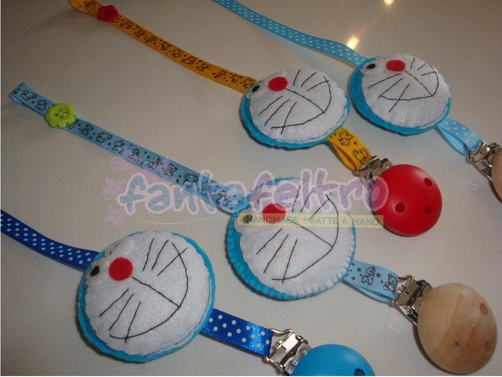 Clip porta ciuccio Doraemon