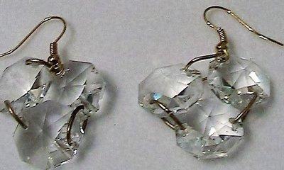 Orecchini con tris di cristalli Swarovski