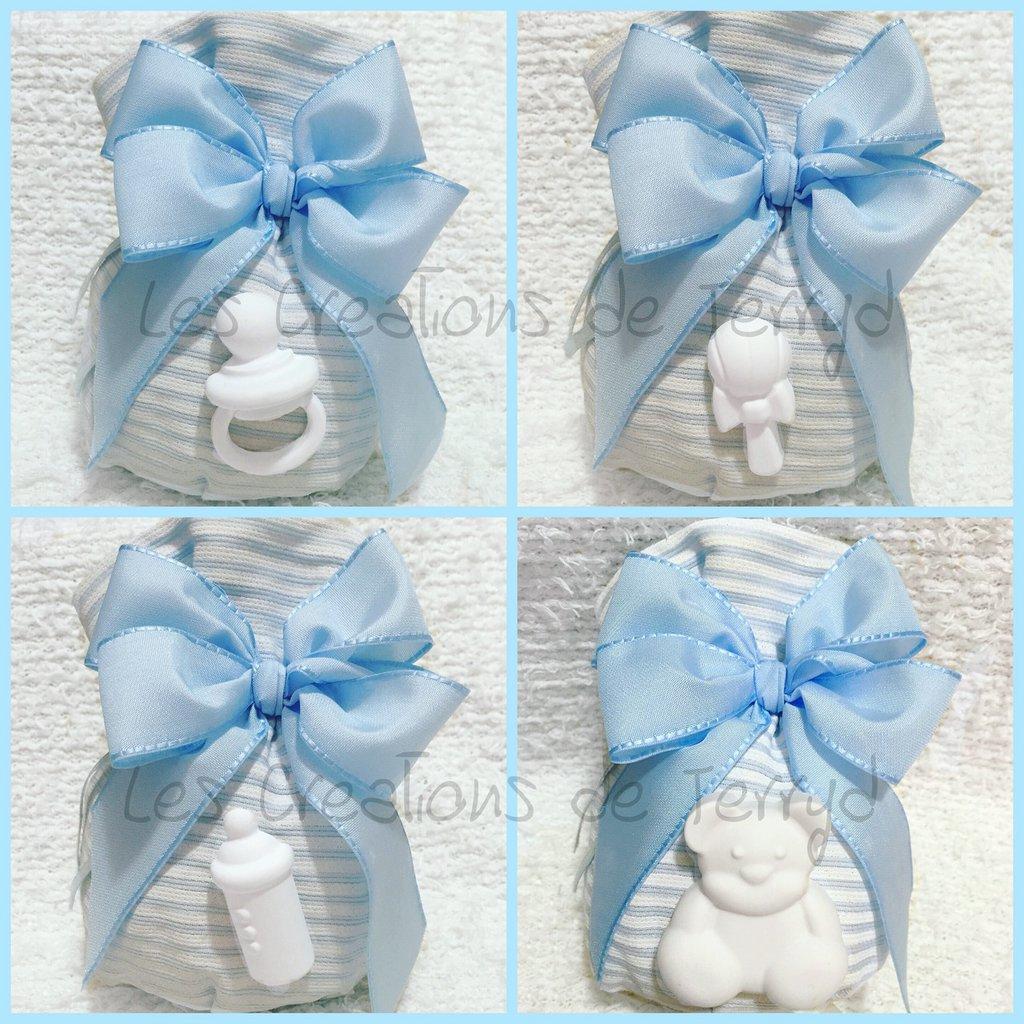 Bomboniere Baby Shower Fai Da Te ~ Bomboniere gessetto per battesimo o nascita feste