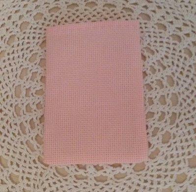 "Inserzione riservata ""sacchettini da ricamare tela aida rosa"""