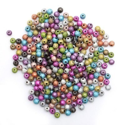 100 SFERE STARDUST 4mm - A5874