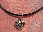 collana con cuore nel cuore