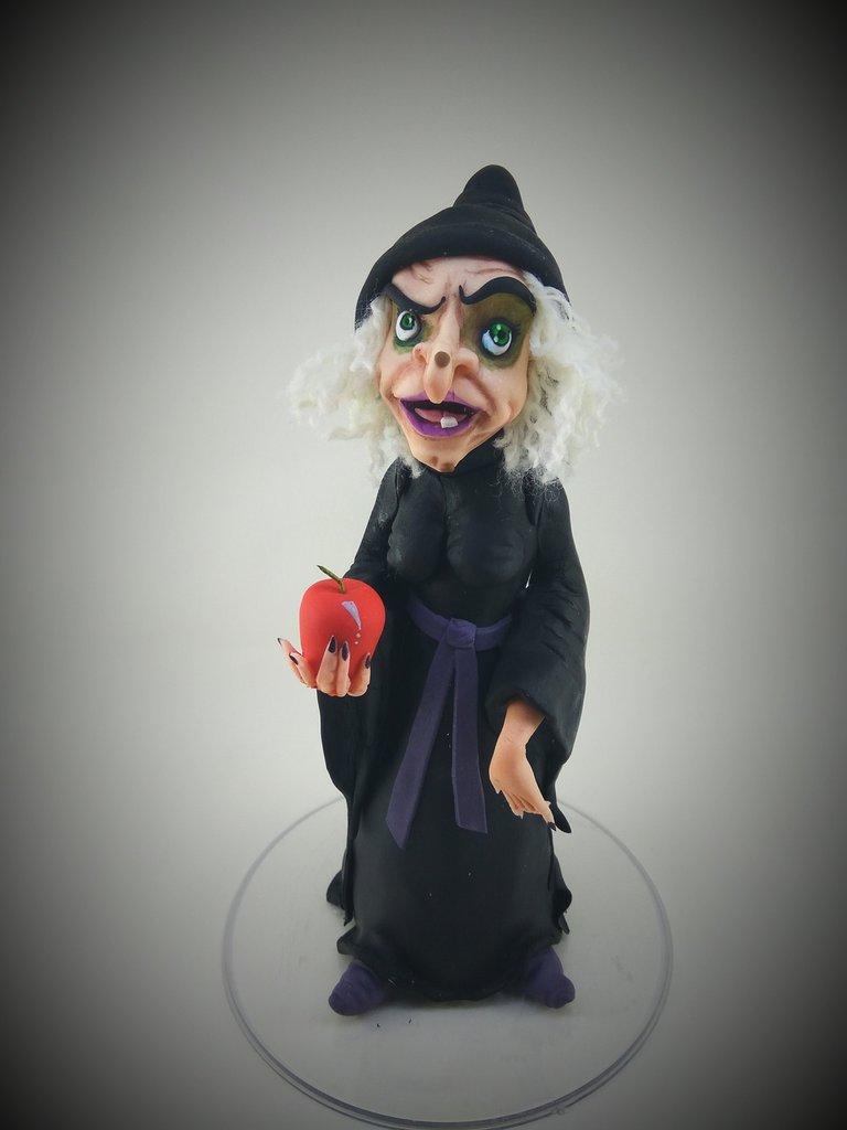 Grimilde strega Biancaneve cake topper