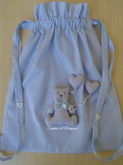 Sacca asilo per bambino - Idea regalo
