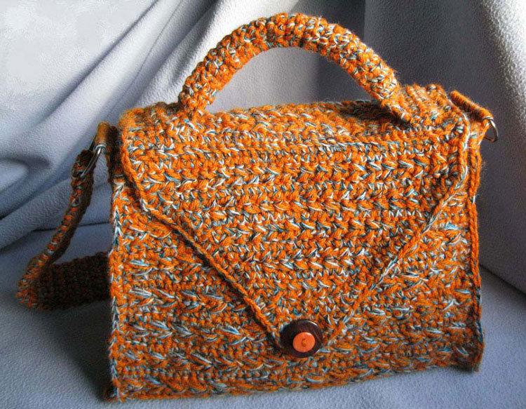 borsetta arancione ANGELA
