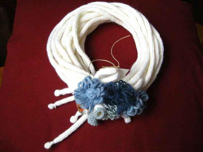 scaldacollo in lana ZELDA