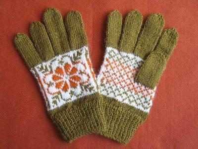 guanti in lana ZOE