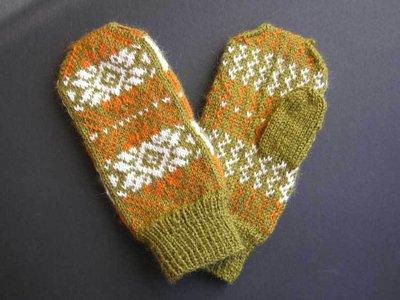 guanti/manopola in lana ZOE