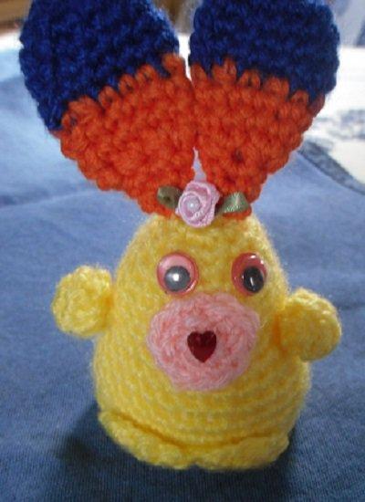 Coniglietto Amigurumi in lana