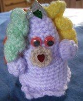 Pupazzo amigurumi in lana