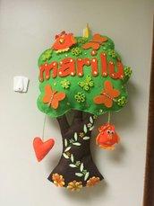 Fiocco nascita albero incantato