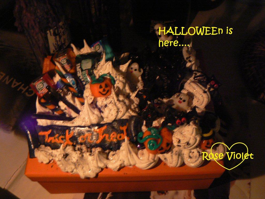 scatola halloween