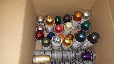 50 Capsule Nespresso Originali vuote per lavorazione e bijoux.