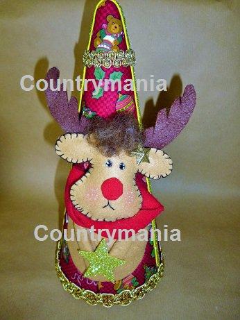 albero di Natale con renna