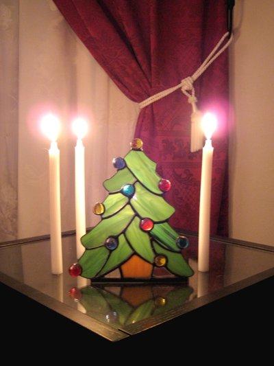 albero di Natale tiffany