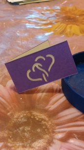 Biglietti bomboniera matrimonio