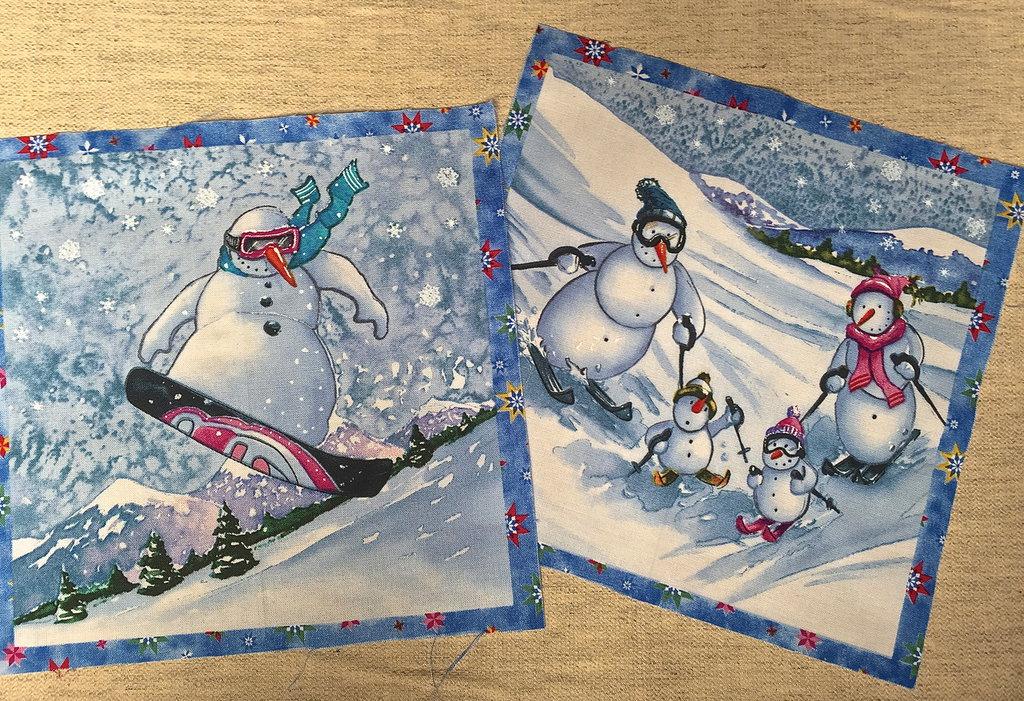 Fai le tue presine con gli omini di neve