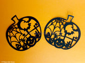 SET 2 SAGOME ZUCCA DECORATA HALLOWEEN (art. 94)