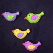 I coloratissimi Uccellini