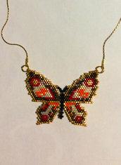 collana ciondolo farfalla