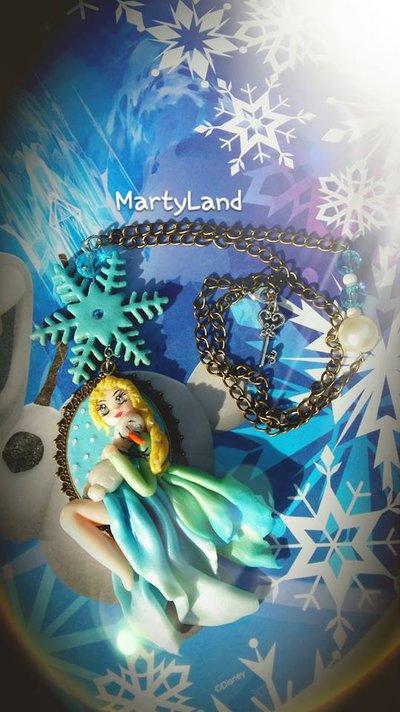 collana Elsa di Frozen