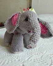 Elefantino amigurumi in puro  cotone