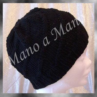 Cappello a cuffia - Nero Unisex