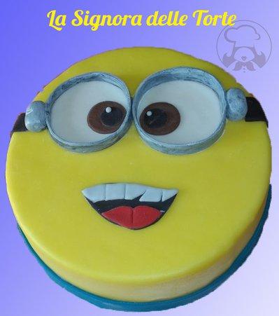 Topper TORTA MINION _Compleanno _ MINIONS Realizzato a mano CATTIVISSIMO ME  PDZ