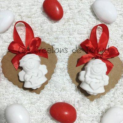 Decorazioni per l'albero di Natale o segnaposto natalizio