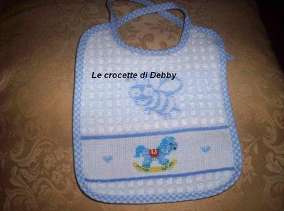 bavaglina per neonato