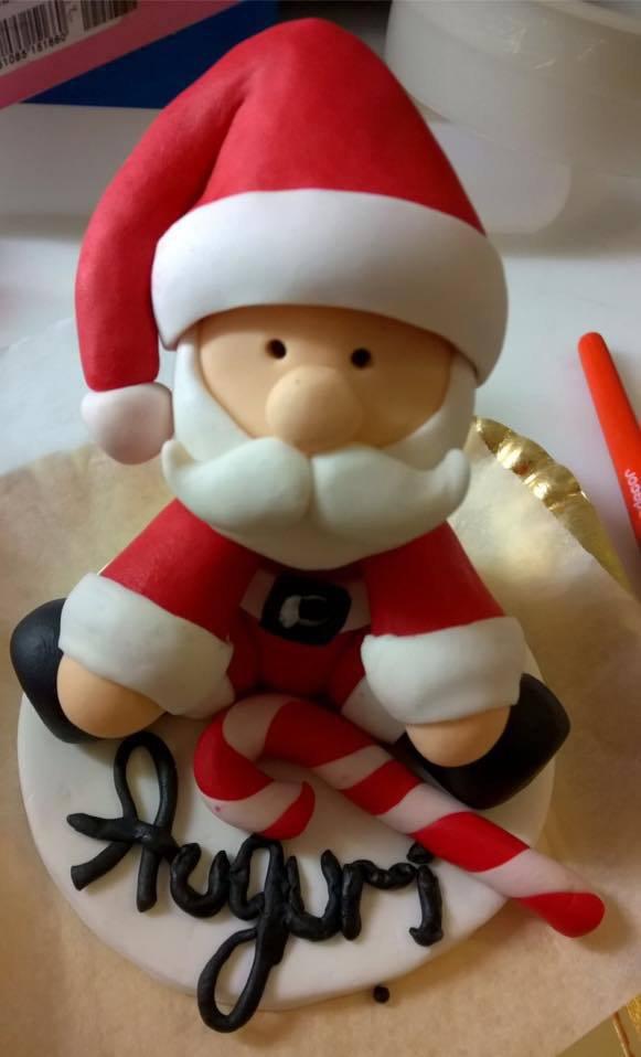 Babbo Natale per decorazioni torte o segna posto