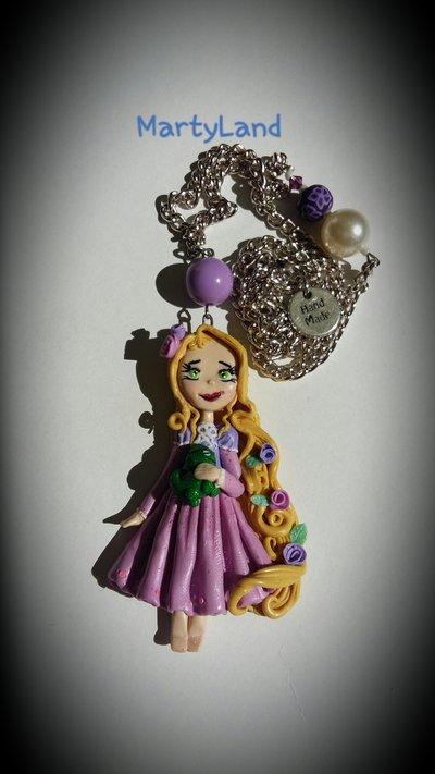 ciondolo principessa rapunzel
