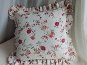 cuscino fantasia fiori