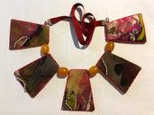 collana trapezi colorati