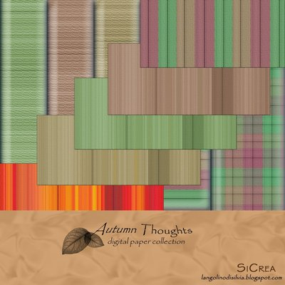 Autumn Thoughts - Digital Paper Collection