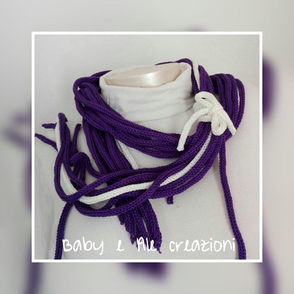 Collana scaldacollo violet