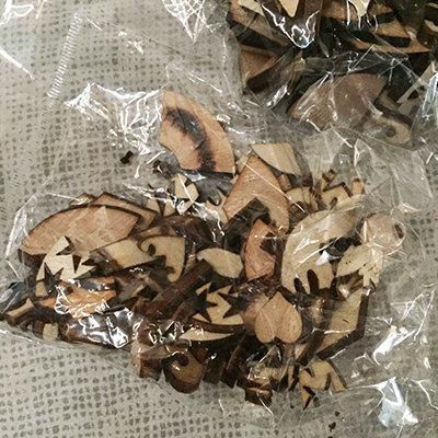 Frammenti di legno