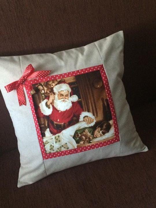 Cuscino natalizio babbo natale