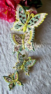 Coordinato Farfalle Ceramica