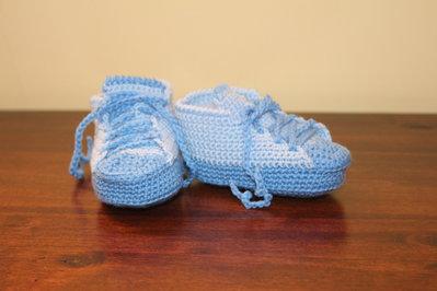 Scarpette sportive neonato