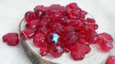 FUORI TUTTO Lotto 17 perle vetro 64pz