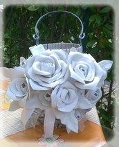 Lanterna rose bianche