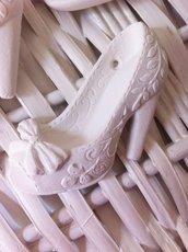 Scarpetta in gesso ceramico
